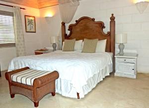 Villa Melissa Barbados master bed