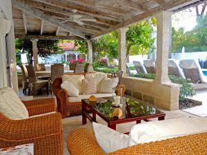 Villa Melissa Barbados patio