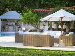 Villa Melissa Barbados terrace