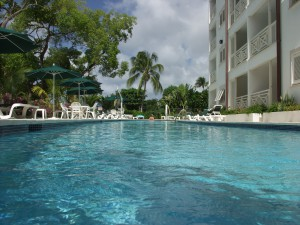Waterside-405-Barbados-vacation-rental-pool