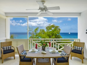 Waterside 405 Barbados balcony