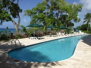 Waterside 405 Barbados pool