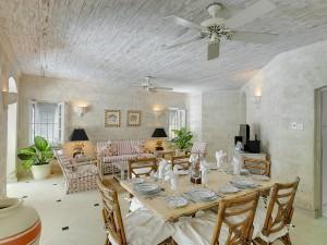 Waverley villa Barbados interior