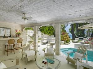 Waverley villa Barbados outdoor living