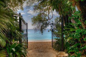 Waverly-one-villa-rental-barbados-beach-entrance