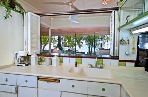 Whitecaps villa view from kitchen