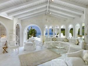 Whitegates villa Barbados interior