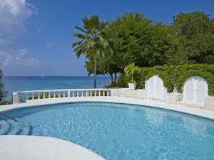 Whitegates villa Barbados pool