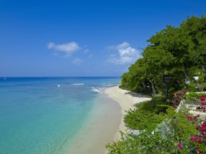 Whitegates villa Barbados view