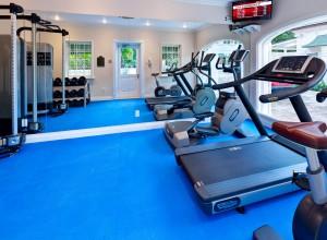 Windward villa gym
