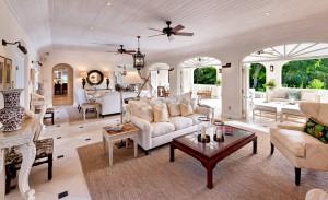 Windward villa living room inside