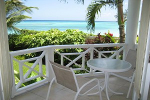 Nautilus Barbados vacation rental balcony