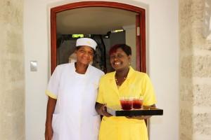 Barbados villa rental Harmony House staff