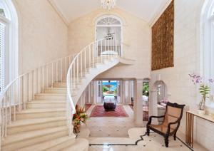 Stairway to upstairs bedroom