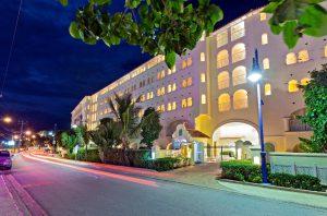 sapphire-beach-213-rental-barbados-entrance