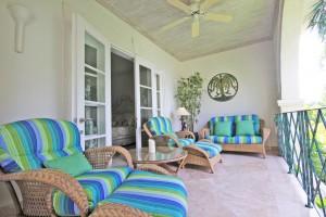 Schooner Bay 205 Barbados bedroom balcony