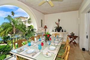 Schooner Bay 205 Barbados dining