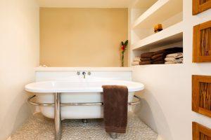 Thespina Barbados villa rental bathroom