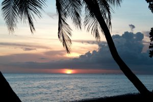 west we go villa barbados sunset