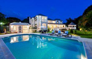 windward-villa-rental-barbados-exterior-twilight