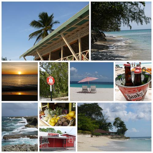 Barbados collage