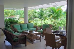 Palm Beach Condos 109 patio