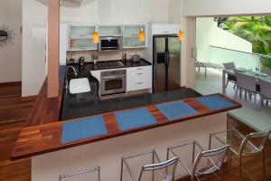 The Grove Residences Hillside Villa 7 breakfast bar