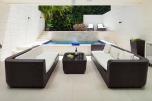 The Grove Residences Hillside Villa 7 patio