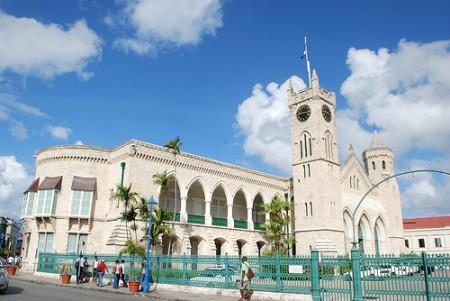 Barbados Parliament Buildings in Bridgetown