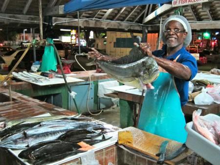 Oistins Fishing Village