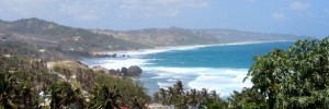 Barbados East Coast view