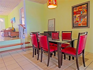 Ocean Hollow Barbados rental dining