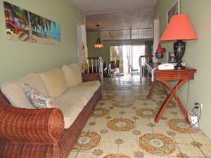 Ocean Hollow Barbados rental entry hallway
