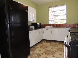 Ocean Hollow Barbados rental kitchen