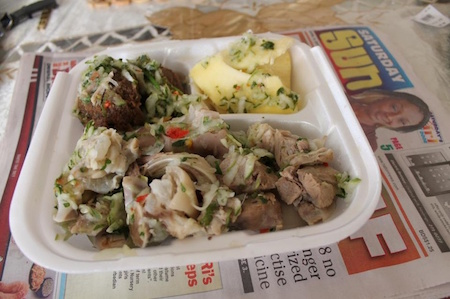 Pudding and souse Barbados