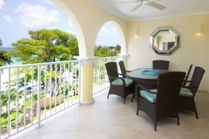 Sapphire-Beach-Barbados-rental-313-balcony