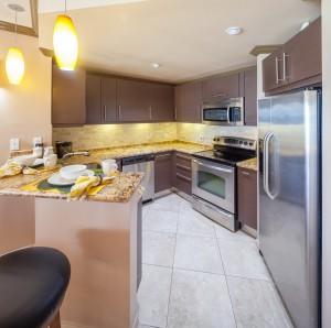 Sapphire-Beach-309-Barbados-rental-kitchen