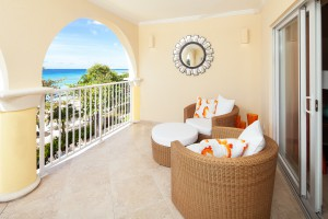 Sapphire-Beach-309-Barbados-rental-balcony