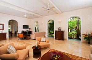 Living area Pandanus villa
