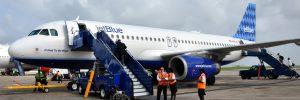 JetBlue flights USA to Barbados