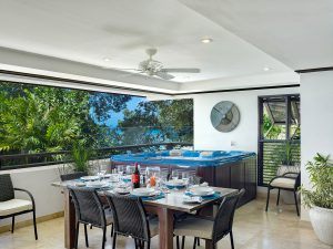 Coral Cove 6 The Ivy Barbados dining