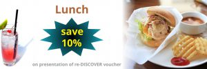 re-Discover lunch voucher