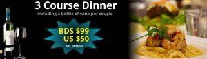 re-discover barbados dinner