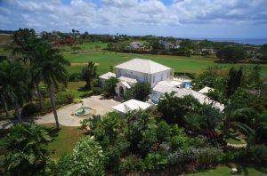 Tradewinds villa aerial view