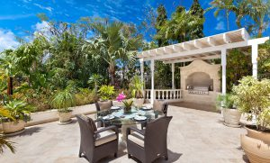 tradewinds villa barbados breakfast deck