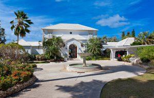 tradewinds villa barbados front entrance