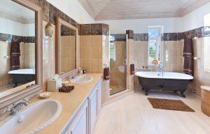 tradewinds villa barbados master bathroom