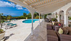 tradewinds villa barbados patio