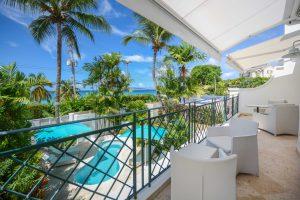 Blue-Waters-villa-Barbados-bedroom-balcony